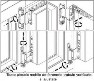 Reglaje termopane